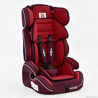 Автокресло универсальное Е 4327 (2) Цвет красный 9-36 кг Joy, фото 1