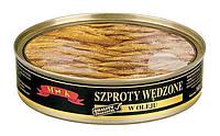 Шпроты в масле MK  Wedzone , 160 г (Польша) ж/б