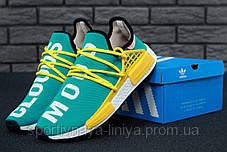 Кроссовки мужские красные Adidas x Pharrell Williams Human Race NMD (реплика), фото 3