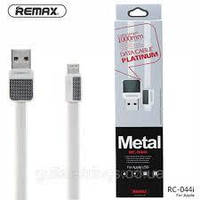 Кабель Remax Platinum RC-044m - белый (1 метр, USB-microUSB), фото 1