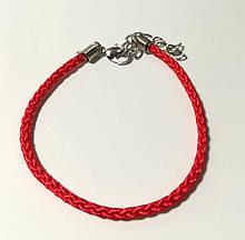 Браслет Червона нитка обереговий, колір червоний \ Sb - 0167