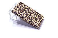 """Чехол-книжка для HTC Desire VC T328d """"Леопард"""""""