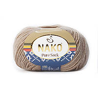 Nako Pure Sock  - 2706 беж