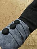 Замш+Замш с сенсором женские перчатки для работы на телефоне плоншете ANJELAстильные только оптом, фото 3