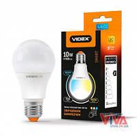 LED smart лампа VIDEX A60eC3 10W E27 220V (с регулировкой цветности)