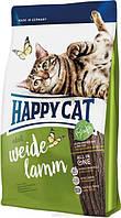 Happy Cat Supreme Weide Lamm - корм для взрослых кошек с ягненком 10 кг