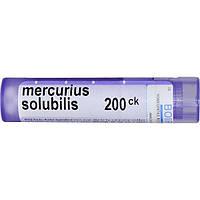 Boiron, Single Remedies, Меркуриус солюбилис, 200CK, прибл. 80 гранул