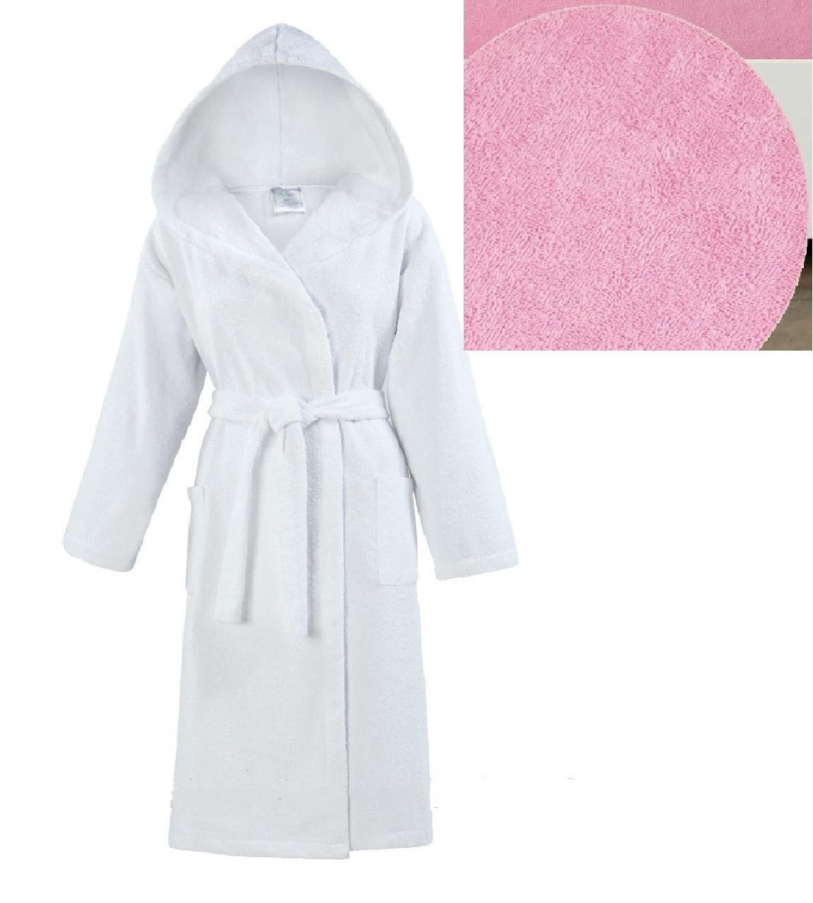 617239bccb12 Махровый халат с капюшоном м.119-В ТМ Ярослав, розовый, цена 707 грн.,  купить в Киеве — Prom.ua (ID#529146585)