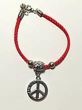 Браслет Червона нитка з підвіскою Friends, браслет обереговий \ Sb - 0236
