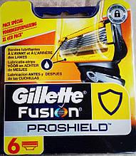Сменные кассеты Gillette Fusion ProShield, 6 шт