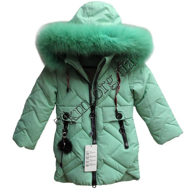 Куртка детская для девочек 104-128 см. Китай Оптом 1826-2  продажа ... 934ea983ce421