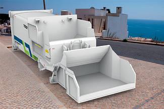 Мобильная компрессионная станция для мусора