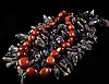 Намисто - галька з коричневого авантюрину