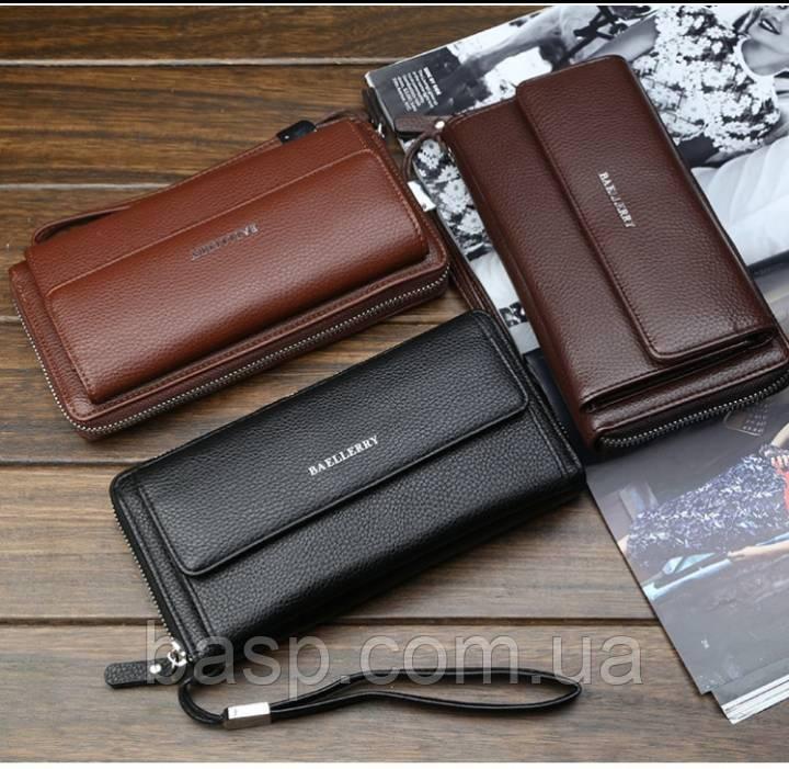 f5eb339f7f19 Мужской кошелек-клатч Baellerry Favorit 5515(светло-коричневый ...