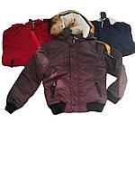Куртка для мальчика зимняя оптом, размеры 10/11- 16/17 лет, Nature, арт.RYB 4615
