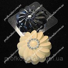Пластиковая форма для шоколада 2Д Цветок