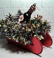 Новогодние Сани декор- подарок  на Новый год 2021