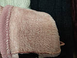 Вязание шерсти трикотаж женские перчатки ANJELA только оптом, фото 4