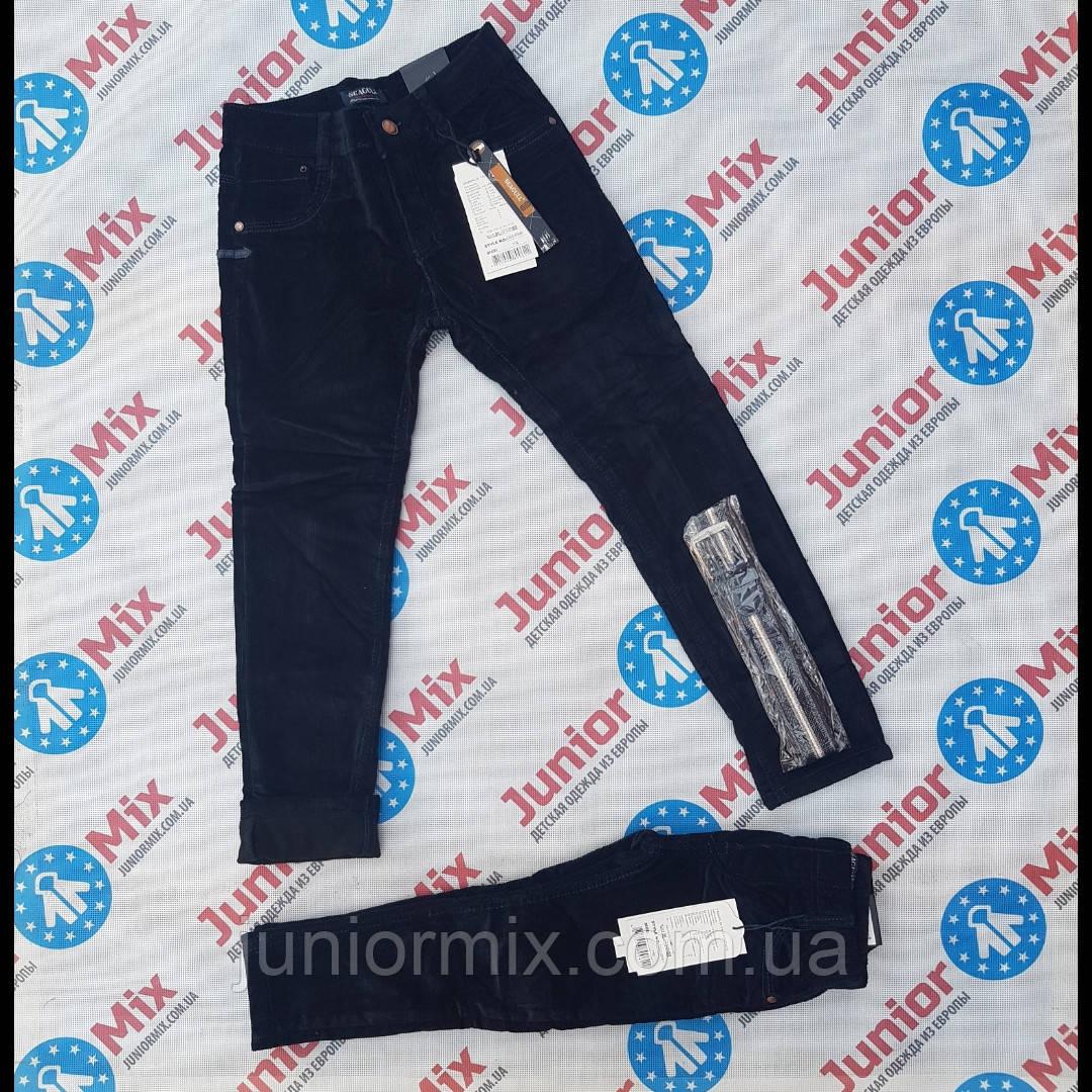 Детские теплые вильветовые брюки для мальчиков оптом  SEAGULL  синего и черного цвета