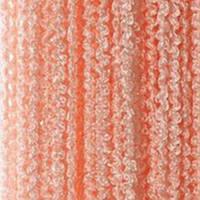 Шторы нити спираль однотонные персикового цвета