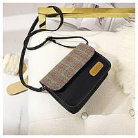 Женская сумочка клатч кожа PU плотная, фото 1