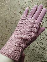 Сенсорны вязание шерсти трикотаж женские перчатки для работы на телефоне плоншете ANJELA только оптом, фото 1