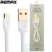 Кабель Remax Platinum RC-041m - белый (1 метр, USB-microUSB)