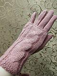 Вязание шерсти трикотаж женские перчатки ANJELA только оптом, фото 2