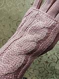Вязание шерсти трикотаж женские перчатки ANJELA только оптом, фото 3