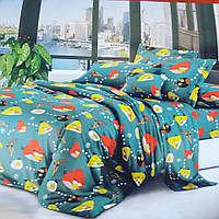 Ткань для пошива постельного белья сублимация полик-027