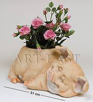 """Кашпо """"Квітковий порося"""" Sealmark GG-5306 LB"""