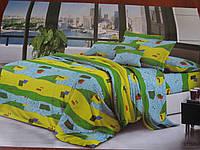 Ткань для пошива постельного белья сублимация полик-029