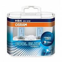 Комплект галогенних ламп Osram Cool Blue Intense 9006CBI-HCB-DUO HB4 12V 51W P22d