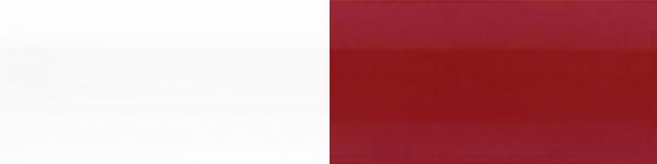 Жлюзі горизонтальні 101/201 червоно білі
