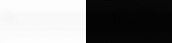 Жалюзі горизонтальні 101/814 біло чорні