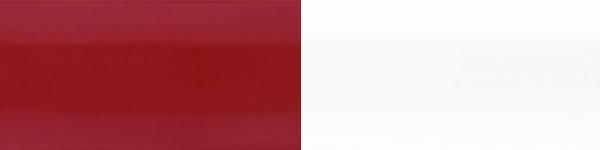 Жалюзі горизонтальні 201/101 біло червоні