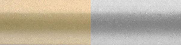 Жалюзі горизонтальні 478/937 золото срібло