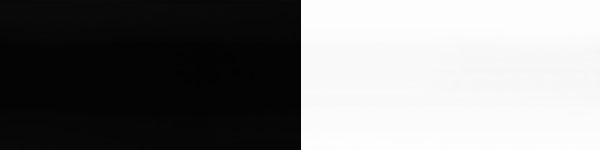 Жалюзі горизонтальні 814/101 чорно білі