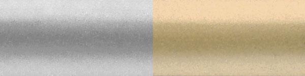 Жалюзі горизонтальні 937/478 срібло золото