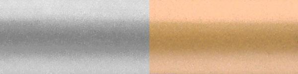 Жалюзі горизонтальні 938//908срібло золото