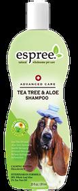 Espree Tea Tree & Aloe Shampoo - терапевтический шампунь для собак, 355 мл