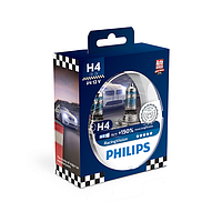 Комплект галогенних ламп Philips RacingVision 12342RVS2 H4 12V 60/55W P43t-38