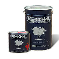 Акриловая белая эмаль для дерева МДФ OCV829BG20+C325 шелковисто-матовая KEMICHAL (Италия) (25кг+2.5л)