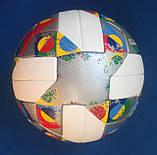 Мяч футбольный ADIDAS UEFA NATIONS LEAGUE OMB CW5295 (размер 5), фото 4