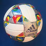 Мяч футбольный ADIDAS UEFA NATIONS LEAGUE OMB CW5295 (размер 5), фото 6