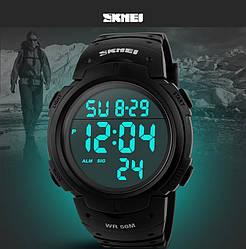 Спортивные часы Skmei 1068 Black