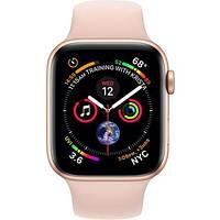 Смарт-часы Apple Watch Series 4 GPS 44mm Gold Alum. w. Pink Sand Sport b. Gold Alum. (MU6F2) НОВИНКА 2018 MU6F