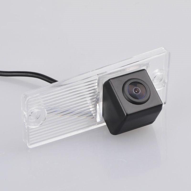 Штатная камера заднего вида My-Way MW-6055. Kia Cerato 2003-2008