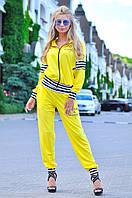 Яркий и стильный женский спортивный костюм из двунити, норма
