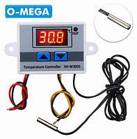 Терморегулятор цифровой XH-W3001 220В (-50...+110) с порогом включения в 0.1 градус для инкубатора, фото 1